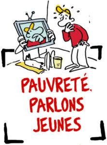 Logo : Pauvreté, Parlons Jeunes !